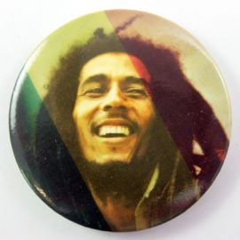 Bob Marley - 'Laughing' 56mm Badge